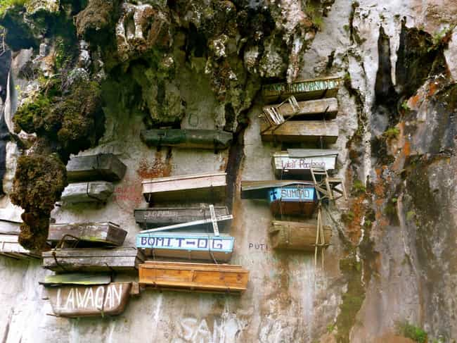 Motivations for Coffin-Hanging... is listed (or ranked) 1 on the list 7 Fascinating Facts About the Hanging Coffins of the Philippines