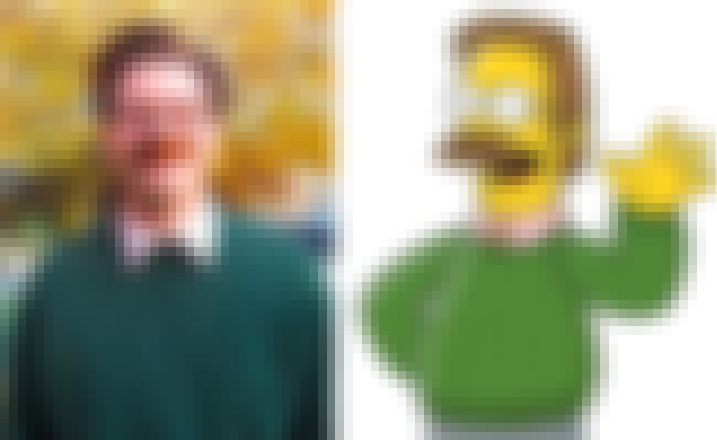 Ned Flanders is listed (or ranked) 2 on the list 21 Real People Who Look Just Like Simpsons Characters