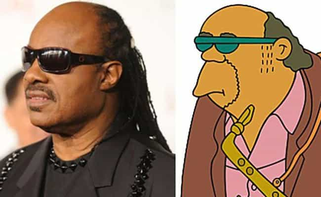 Bleeding Gums Murphy is listed (or ranked) 4 on the list 20 Real People Who Look Just Like Simpsons Characters