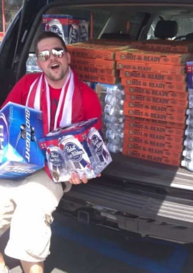Locked and Loaded is listed (or ranked) 4 on the list 25 Perfect Examples of Tailgating Done Right