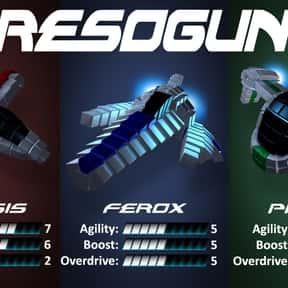 Resogun is listed (or ranked) 23 on the list The Best PlayStation 4 Party Games