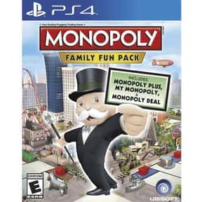 Monopoly Family Fun Pack is listed (or ranked) 8 on the list The Best PlayStation 4 Party Games