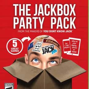 The Jackbox Party Pack is listed (or ranked) 4 on the list The Best PlayStation 4 Party Games