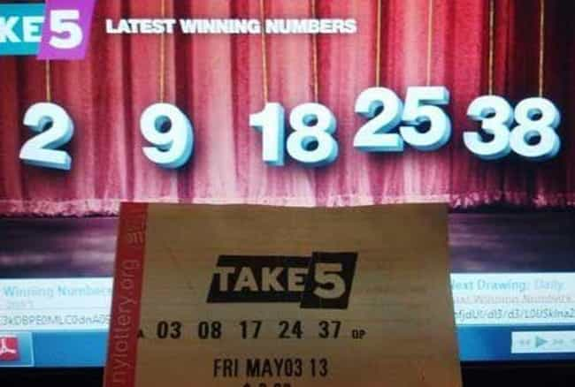 First World Lottery Prob... is listed (or ranked) 3 on the list 20 Photos That People With Perpetually Bad Luck Can Relate To