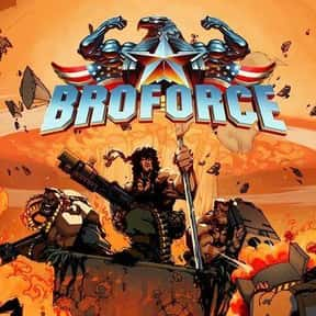 Broforce is listed (or ranked) 6 on the list The Best PlayStation 4 Party Games