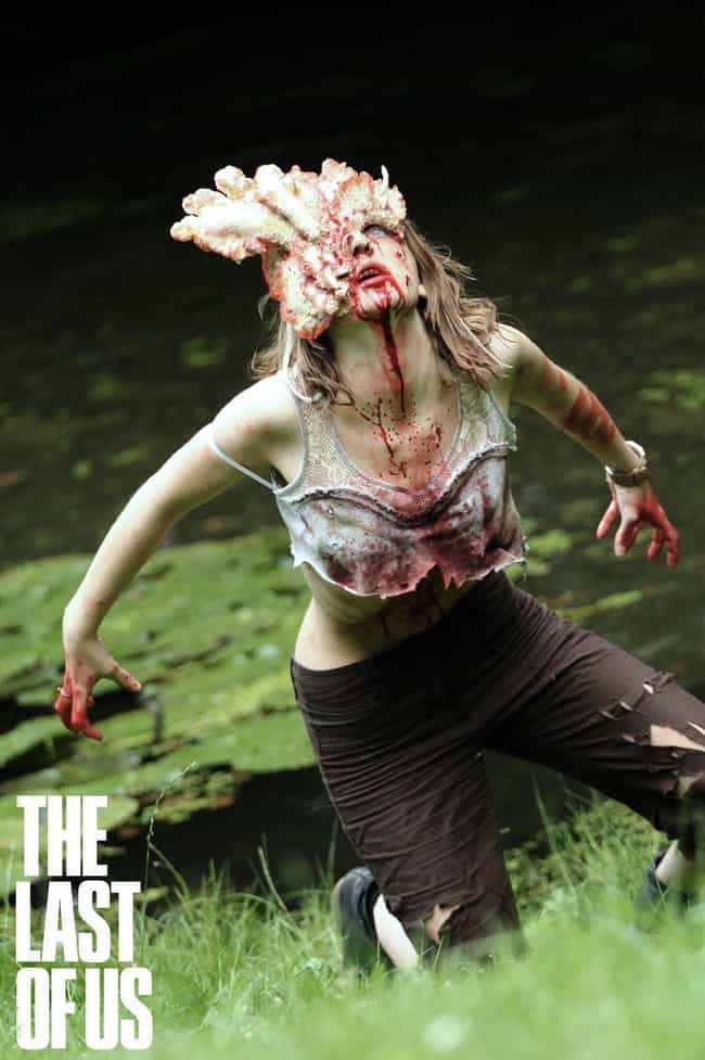 Clicker is listed (or ranked) 7 on the list 19 Insanely Awesome and Unbelievably Accurate Horror Cosplays