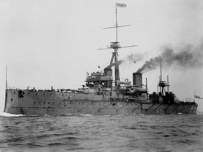 Dreadnought is listed (or ranked) 2 on the list The Most Influential Warships of the Modern Era