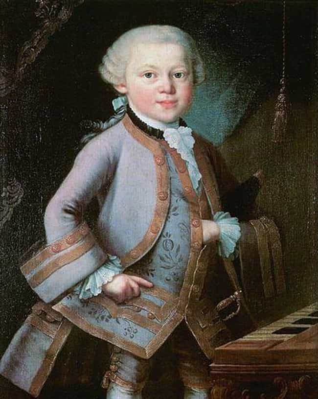 Possessed with Superhuman Musi... is listed (or ranked) 1 on the list 17 Bizarre, Mind-Blowing Facts and Stories About Mozart