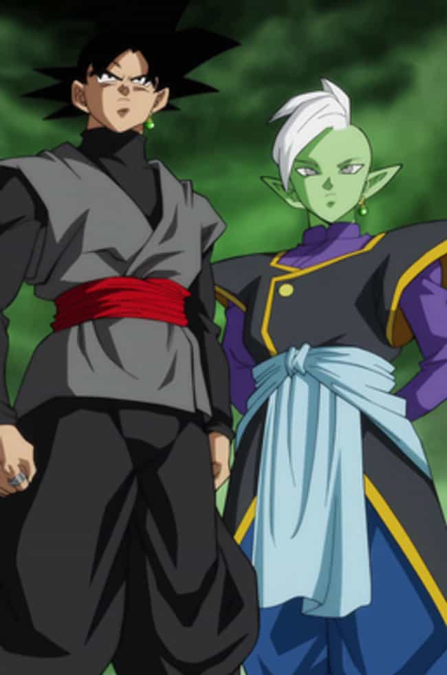Goku Black is listed (or ranked) 4 on the list Ranking The Greatest DBZ Villains of All Time