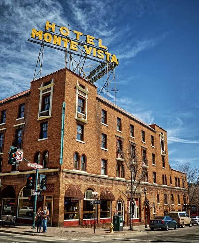The Hotel Monte Vista Is... is listed (or ranked) 8 on the list The Creepiest Urban Legends and Ghost Stories from Arizona