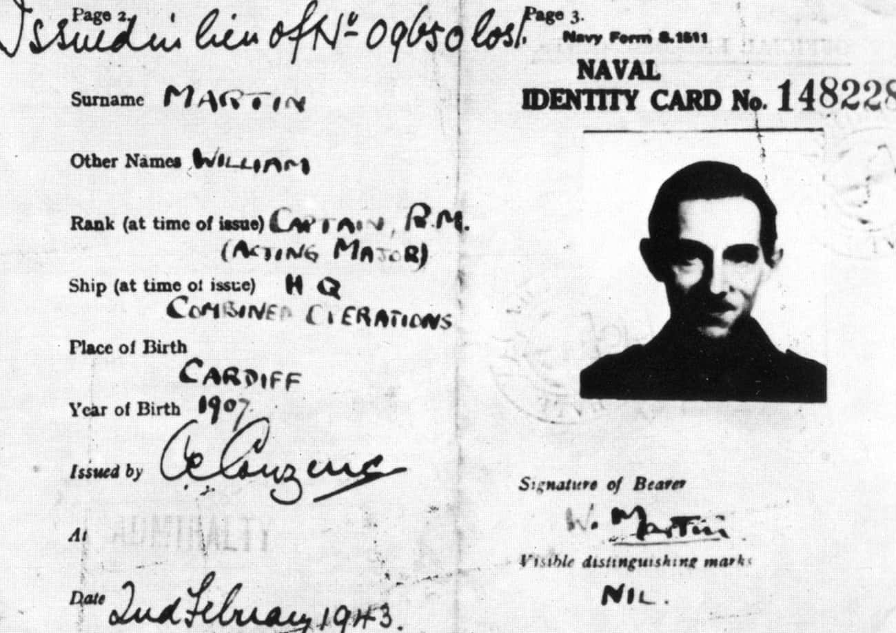Operation Mincemeat: The Man Who Never Was