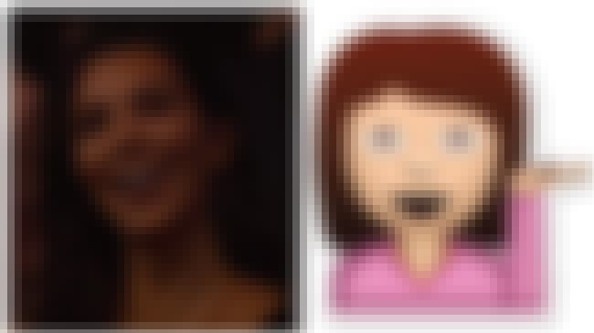 Which Picture Is the Emoji? is listed (or ranked) 2 on the list 2016 VMA Celebs Who Looked Like Emojis