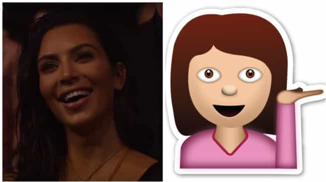 Which Picture Is the Emoji? is listed (or ranked) 3 on the list 2016 VMA Celebs Who Looked Like Emojis