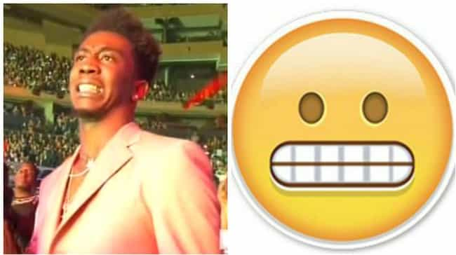 Desiigner Sums Up the VMAs in ... is listed (or ranked) 2 on the list 2016 VMA Celebs Who Looked Like Emojis