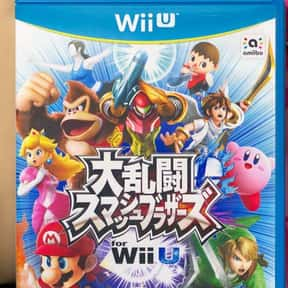 Super Smash Bros Wii U is listed (or ranked) 1 on the list The Best Wii U Fighting Games