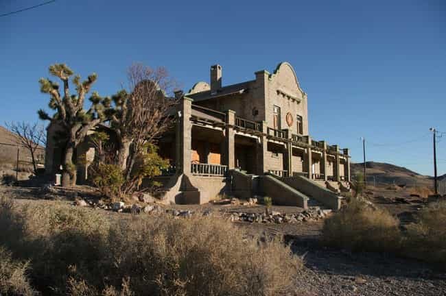 Ghosts in the Ghost Town of Rh... is listed (or ranked) 4 on the list 18 Bizarre and Creepy Urban Legends and Ghost Stories from Nevada