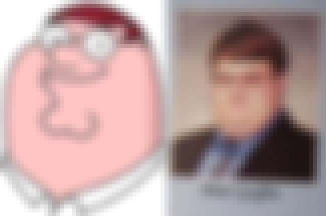 Peter Griffin is listed (or ranked) 2 on the list 24 Real People Who Look Exactly Like Family Guy Characters