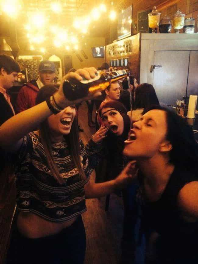 Typical College Tuesday Night is listed (or ranked) 4 on the list Photos That Will Make You Wish You Were In College Again