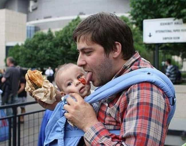 Time to Ketchup is listed (or ranked) 3 on the list The Classiest Dad Photos Ever