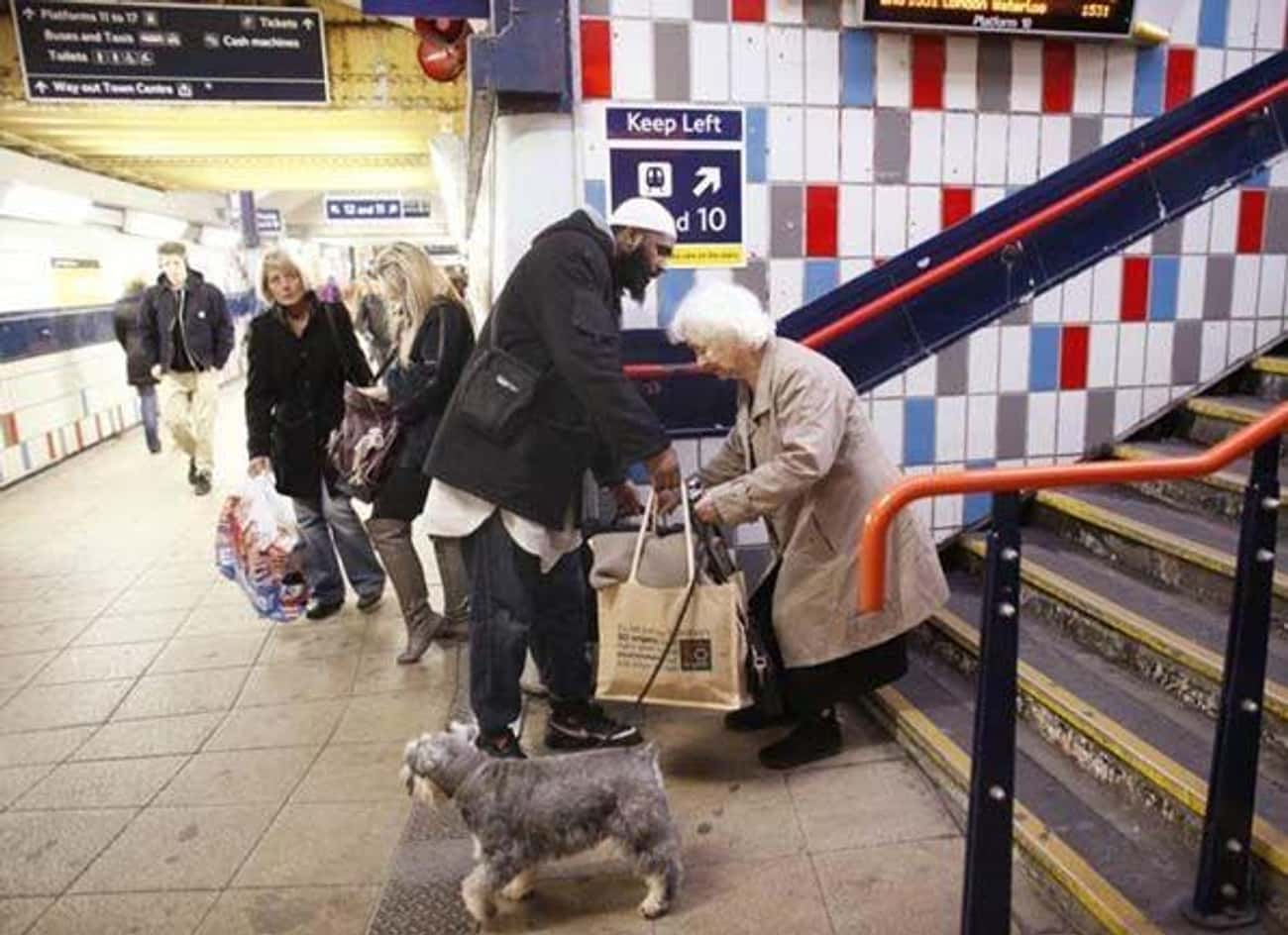 Stairway To Heaven is listed (or ranked) 2 on the list 14 Heartwarming Random Acts of Kindness Caught on Camera