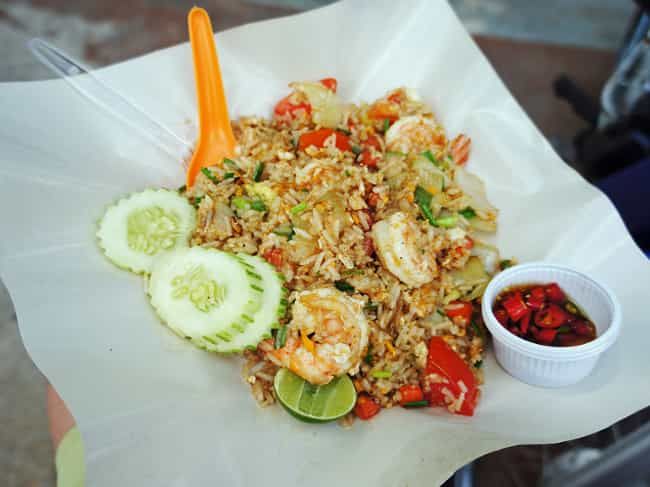 Fried Rice - Thailand is listed (or ranked) 2 on the list Here's What Drunk People Eat Around the World