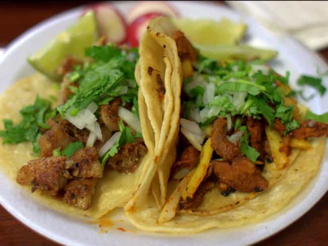 Tacos - Mexico is listed (or ranked) 4 on the list Here's What Drunk People Eat Around the World