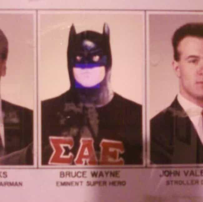Where Is She!? is listed (or ranked) 2 on the list The Funniest Fraternity Composite Photos Ever
