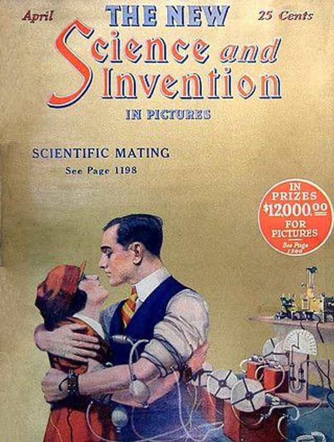 1924's Scientific Mating M... is listed (or ranked) 5 on the list 31 Hilarious Vintage Ads That Tried to Predict the Future