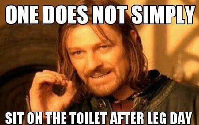 Toilet Humor is listed (or ranked) 4 on the list Workout Memes All Gym-Goers Will Totally Get