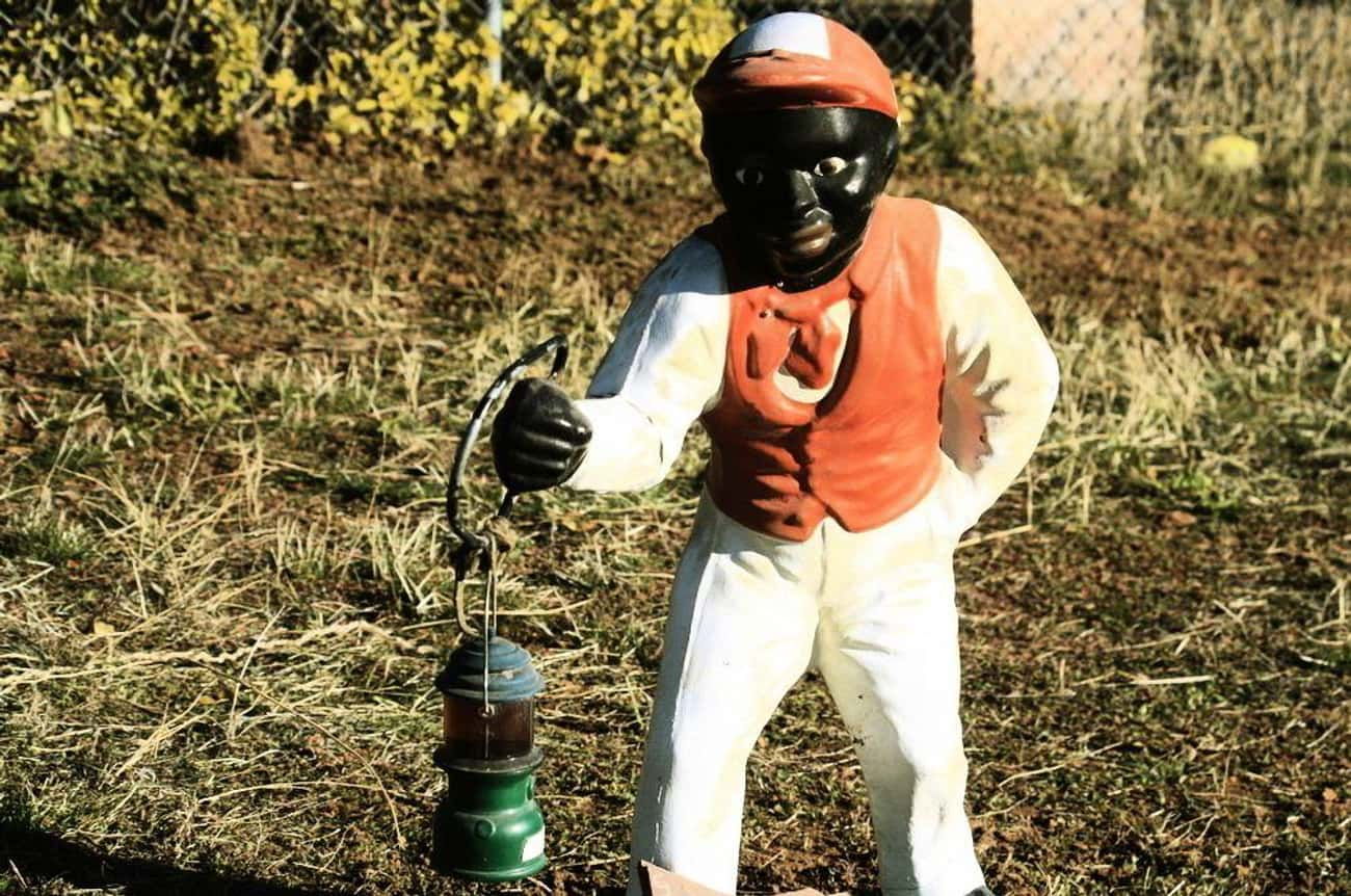 Lawn Jockeys: Yep, They're Racist