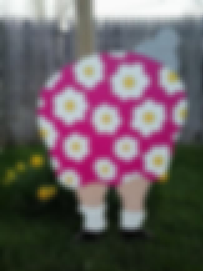Fat Fannies/Fat Freddies: Peop... is listed (or ranked) 4 on the list Popular Lawn Ornaments Everyone Has and Why They Became a Thing