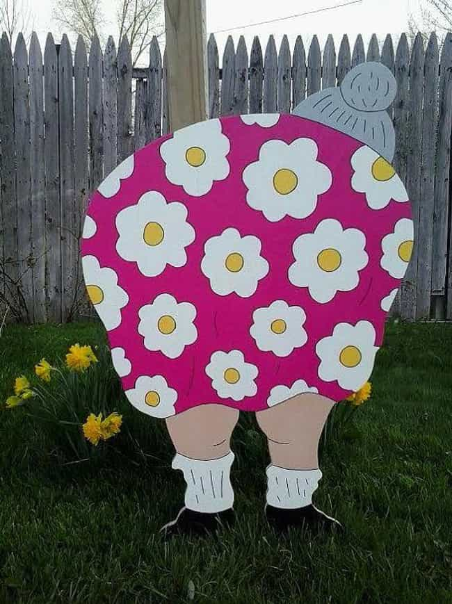 Fat Fannies/Fat Freddies... is listed (or ranked) 4 on the list Popular Lawn Ornaments Everyone Has and Why They Became a Thing