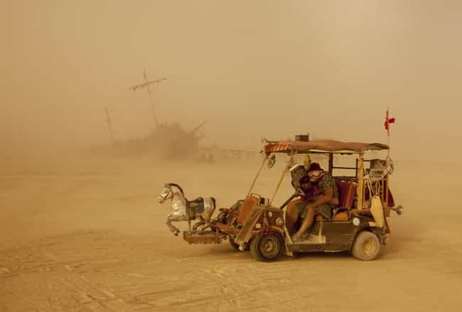 Don't Use The Hot Springs! is listed (or ranked) 2 on the list The Strangest Rules You Didn't Know People At Burning Man Have To Follow