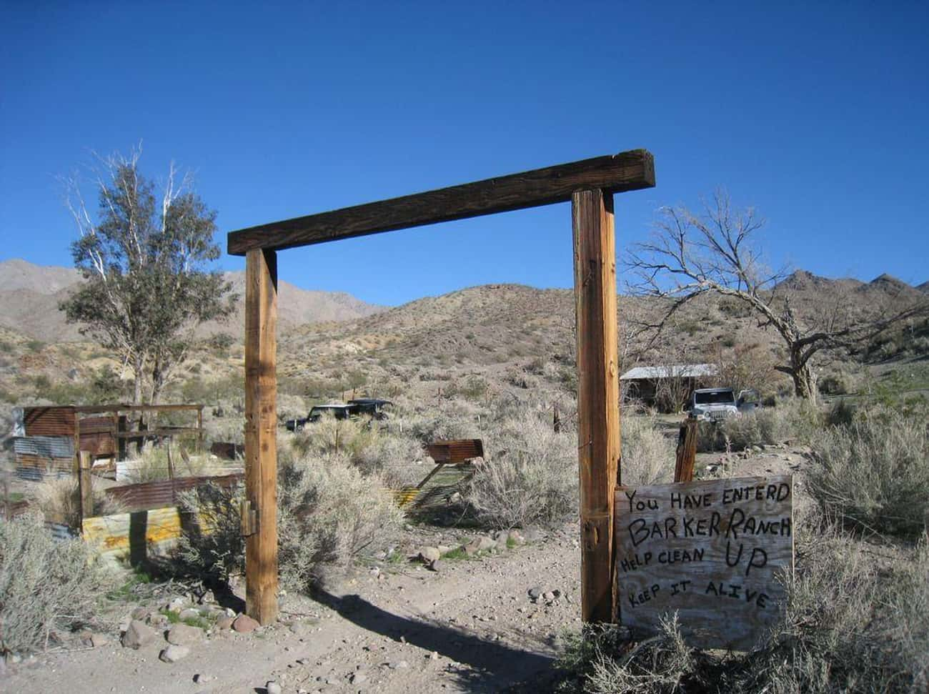 The Manson Family Hid Out in Death Valley