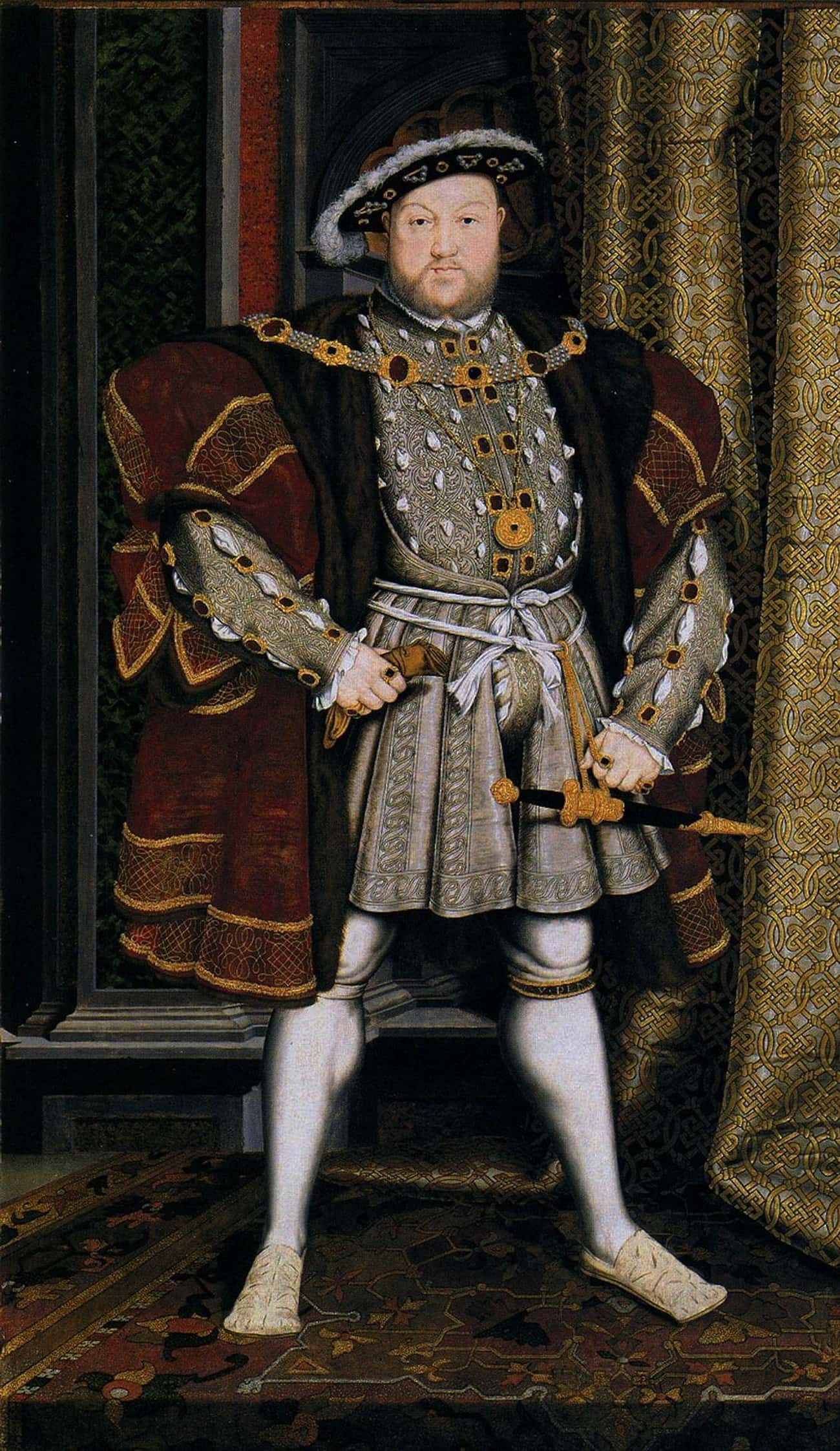 He Was So Fat He Had To Be Hoi is listed (or ranked) 2 on the list 15 Strange Facts About Henry VIII You Definitely Didn't Learn in History Class