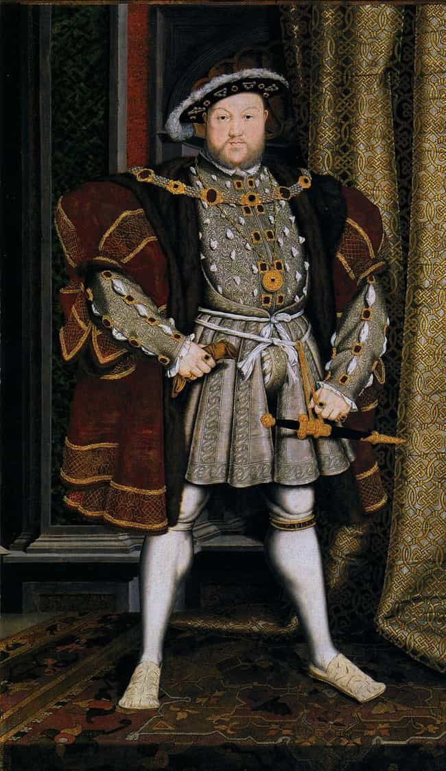 He Was So Fat He Had To Be Hoi... is listed (or ranked) 2 on the list 15 Strange Facts About Henry VIII You Definitely Didn't Learn in History Class