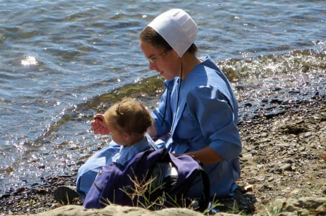 The Amish Are Never Baptized B... is listed (or ranked) 4 on the list 21 Fascinating Facts About Amish Beliefs and Culture