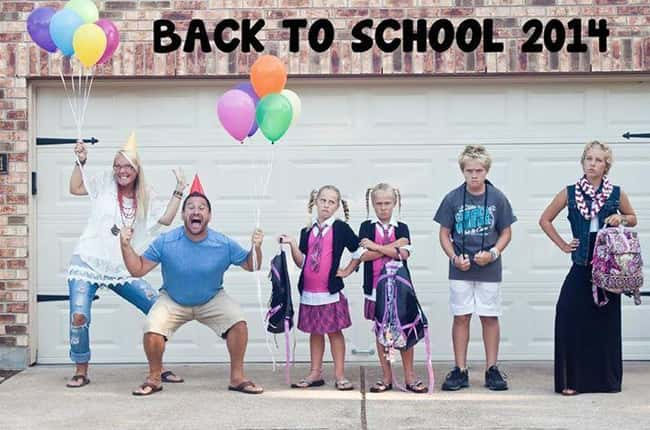 25 Funny First Day Of School Pictures