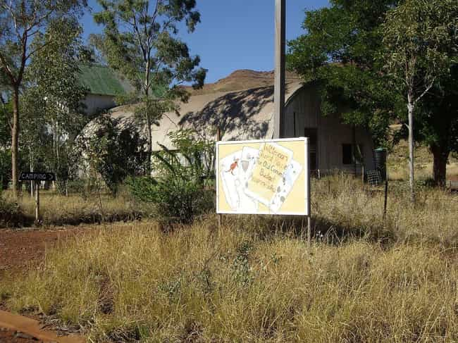 Wittenoom, Australia: Asbestos... is listed (or ranked) 4 on the list 10 Eerie Ghost Towns and the Disasters That Made Them