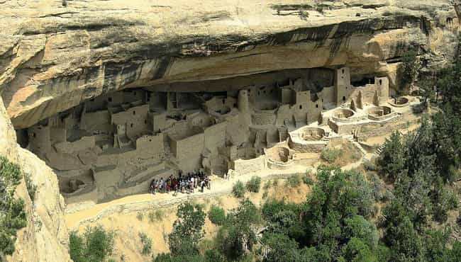 Ancestral Puebloans is listed (or ranked) 2 on the list Spooky Mass Disappearances That Have Never Been Solved