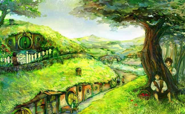 Home Sweet Shire is listed (or ranked) 3 on the list The Best Lord of the Rings and The Hobbit Fan Art