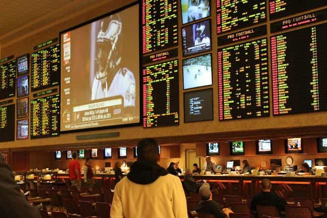 Sports Betting is listed (or ranked) 1 on the list 10 Things the Mafia Somehow Still Controls