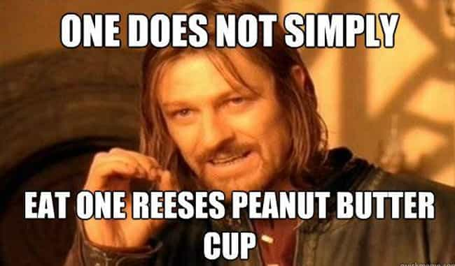 One by One is listed (or ranked) 3 on the list 22 Truths About Reese's Peanut Butter Cups