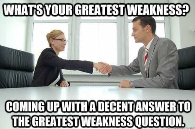 Questionable Question is listed (or ranked) 3 on the list 25 Photos That Pretty Much Sum Up Most Job Interviews