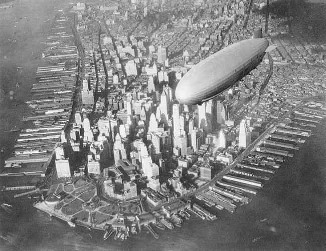 The USS Akron is listed (or ranked) 2 on the list The 17 Craziest, Most Tragic Blimp Disasters in History