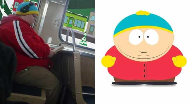 Eric Cartman is listed (or ranked) 1 on the list 21 Actual People Who Look Just Like South Park Characters