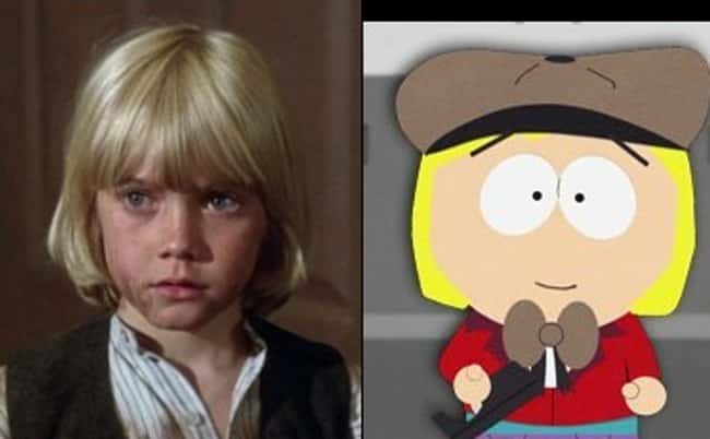 Ricky Schroder and Pip is listed (or ranked) 16 on the list 21 Actual People Who Look Just Like South Park Characters