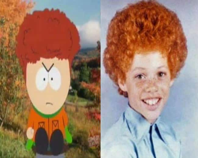 Kyle Broflovski is listed (or ranked) 5 on the list 21 Actual People Who Look Just Like South Park Characters