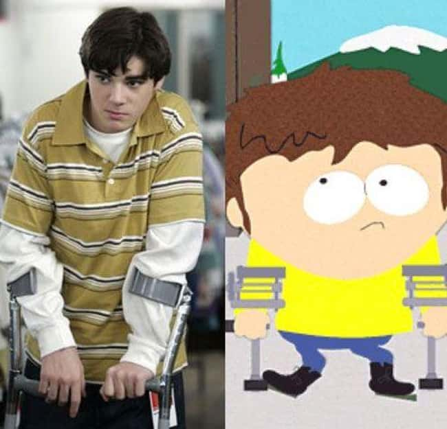 Walt Jr. and Jimmy is listed (or ranked) 14 on the list 21 Actual People Who Look Just Like South Park Characters