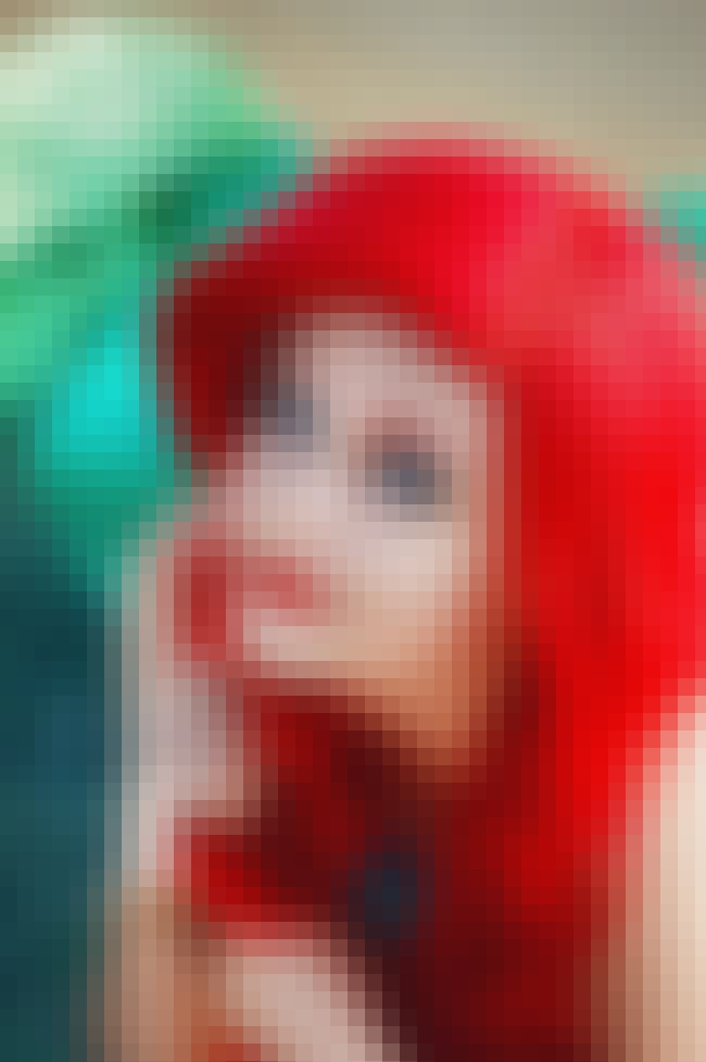 """You're Singing """"Kiss t... is listed (or ranked) 1 on the list 20 Babes Who Look Just Like Ariel in The Little Mermaid"""
